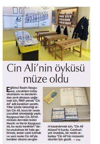 Cin Ali'nin Öyküsü Müze Oldu - Cumhuriyet Anadolu No:18 -  21.02.2020