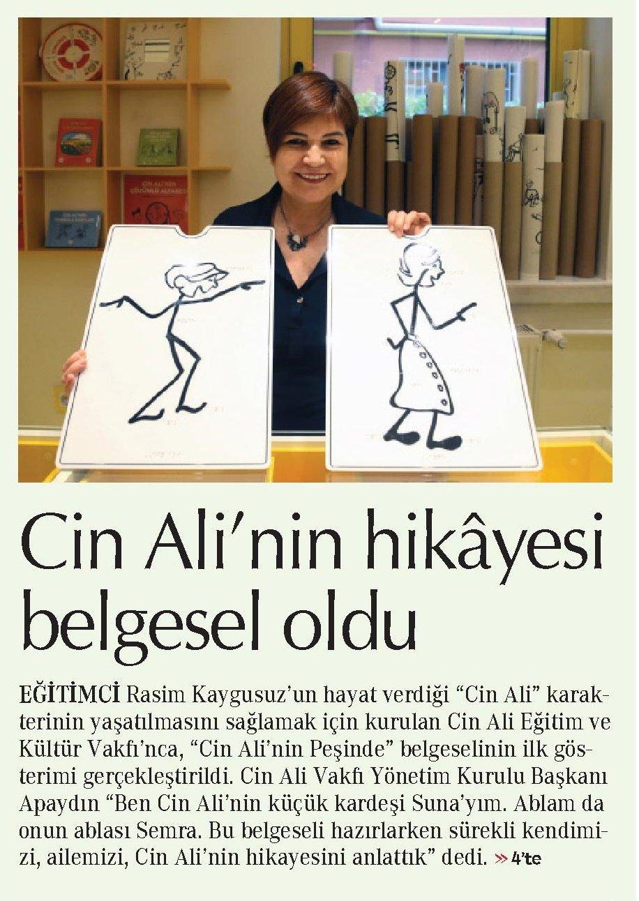 Cin Ali'nin Hikayesi Belgesel Oldu -  Cumhuriyet Anadolu No: 4 -  15.11.2019